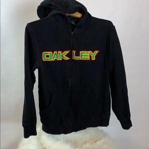 Oakley size S zip up hoodie